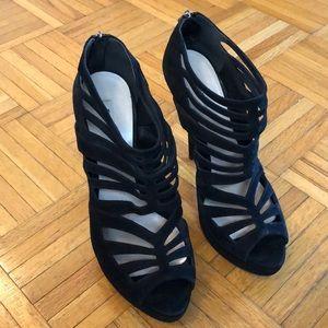 Miu miu suede heels